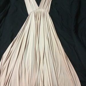 Bhldn twobirds ginger convertible dress